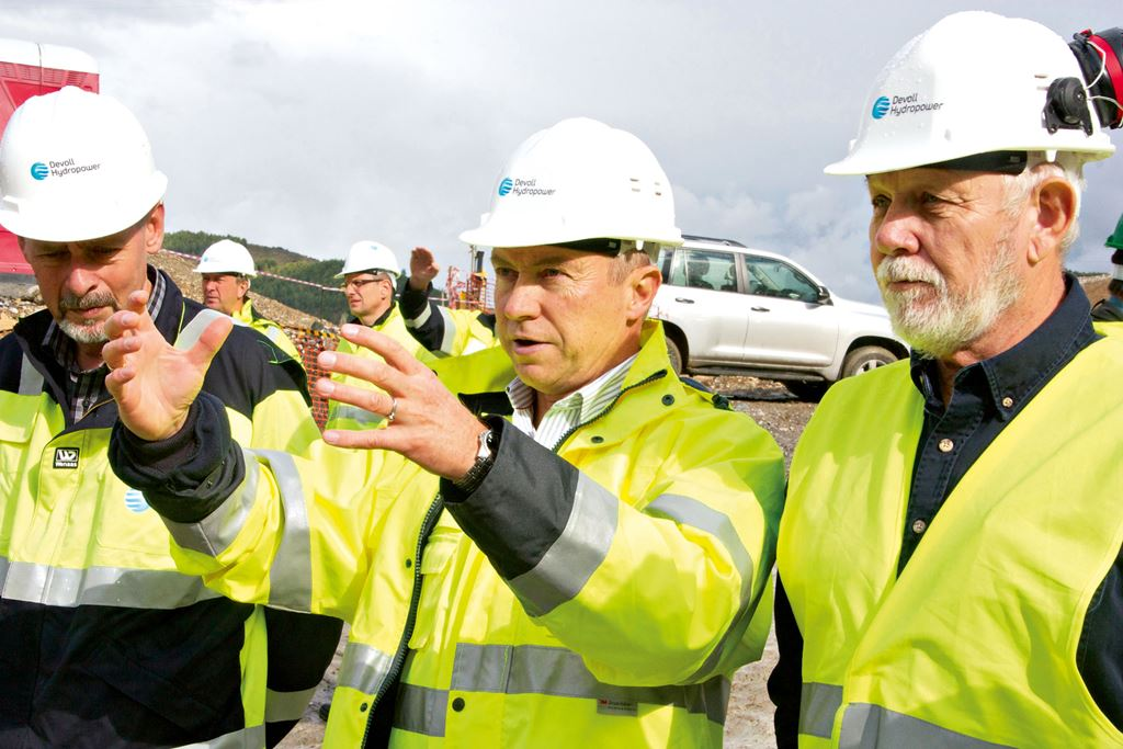 Inspection at site