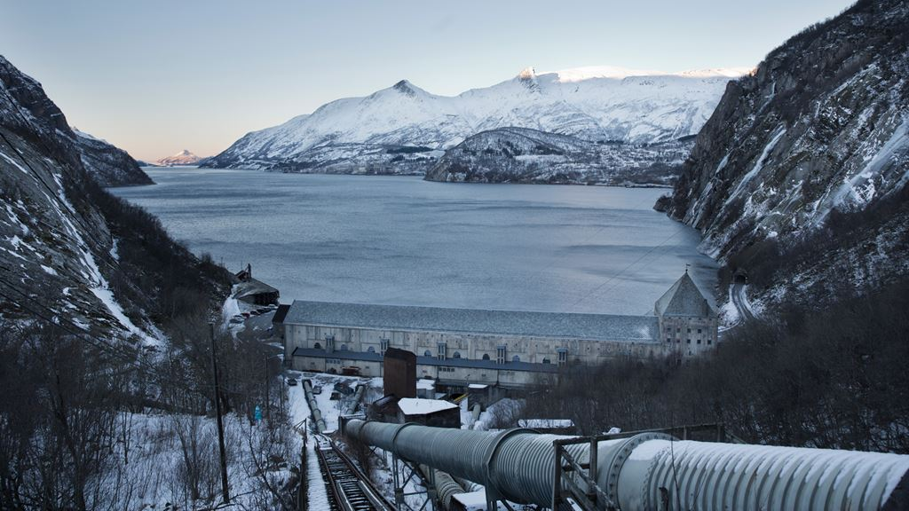 Glomfjord power station