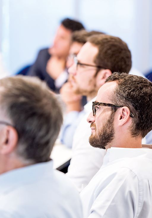 Participants at customer day